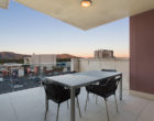 Deck & Entertaining Area - CBD Luxury Accommodation
